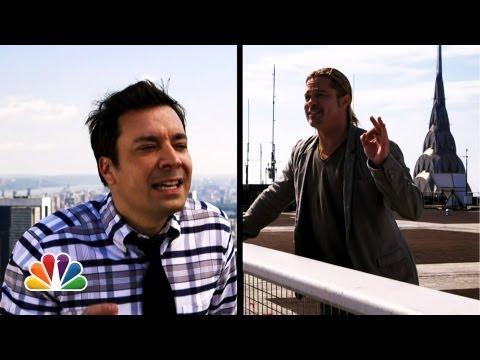 Filmwerbung 2.0: Brad Pitt jodelt für Weltuntergang