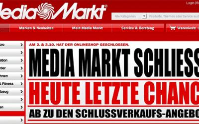 Media Markt Insolvenz: Die große Pleite?