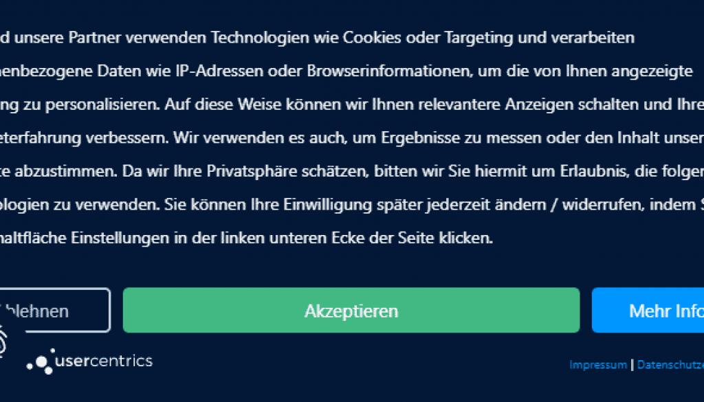 usercentrics beispiel von usercentrics.de
