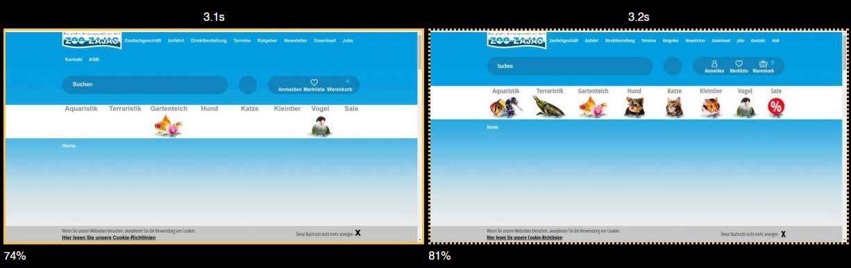 Film Strip View zajac.de für Desktop