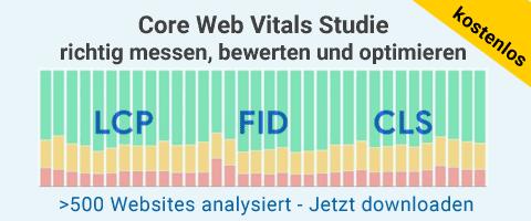 Core Web Vitals Studie